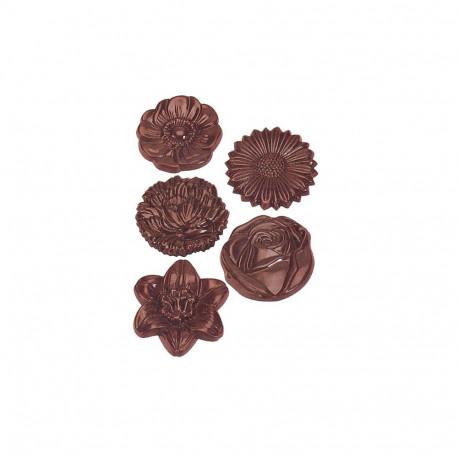 Polycarbonate Candy Mold, Flower Bouquet
