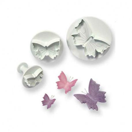 Butterfly Plunger Cutter Set 3