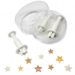 Star Plunger Cutter Set 3