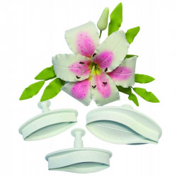 Small Veined Lily Plungers Set/2 (60mm)