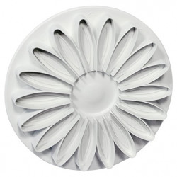 Small Veined Sunflower Daisy Gerbera Cutter (44mm)