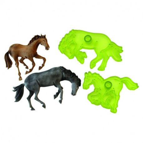 Wild Horses - Set of 2