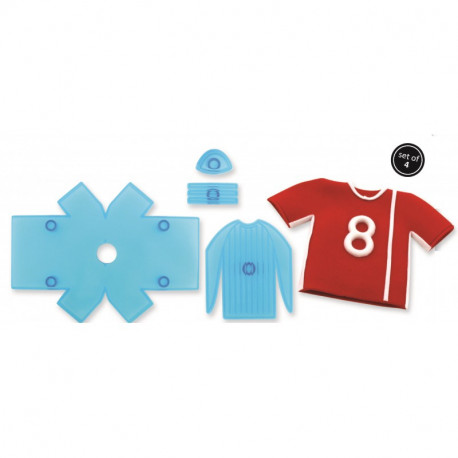 Soccer Shirt - Set of 5
