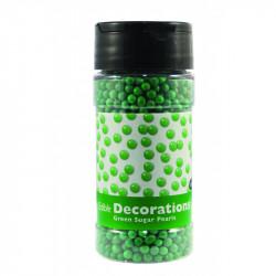 Green Sugar Pearls 113.4g 4mm