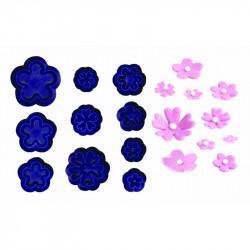 Small Daisy/Blossom & Primula Set - Set of 10
