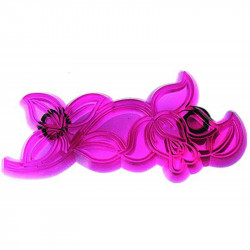 Cutwork Rose - Set of 2