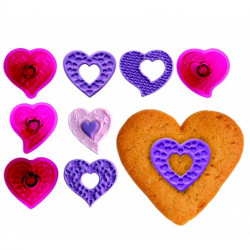 Fantasy Hearts - Set of 4