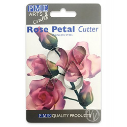 Rose Petal Cutters Set/4