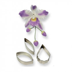 Cattleya Orchid Cutters Set/3