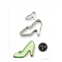 COOKIE & CAKE HIGH HEEL CUTTER (SET/2)