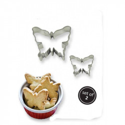 COOKIE & CAKE BUTTERFLY CUTTER (SET/2)