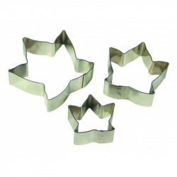 Ivy Leaf Flower Petal Cutters Set/3