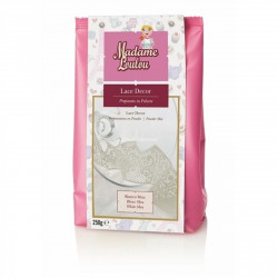 LACE DECOR MOU WHITE 250GR