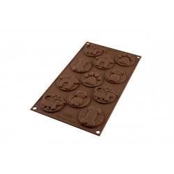 SILICONE CHOCOLATE MOULD PUPPY