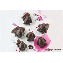 EASTER FRIENDS SILICONE CHOCOLATE MOULD