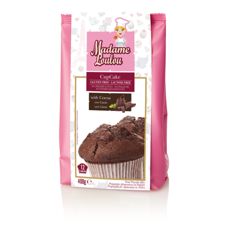 Powder mix for Cupakes Cocoa 400 gr