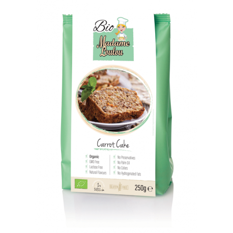 Carrot Cake Bio mix 250 gr