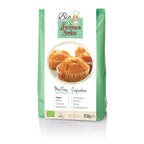 Muffins and Cupcake Bio mix 250 gr