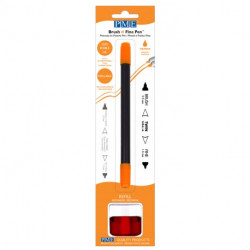 BRUSH N FINE PEN PE032
