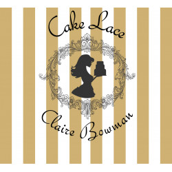 Cake Lace Soft Gold Pre-Mixed 500g By Claire Bowman