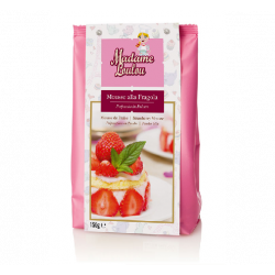 Powder mix for strawberry mousse 150 gr