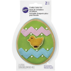 Wilton Easter Cookie Cutter Set, 2-Piece