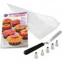 I TAUGHT MYSELF CUPCAKE DECORATING BOOK SET