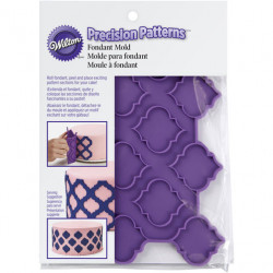PRECISION PATTERNS TRELLIS FONDANT MOLD