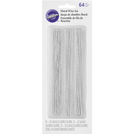 6-INCH FLORAL WIRE SET
