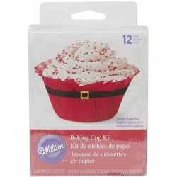 BAKING CUPS SANTA BELT