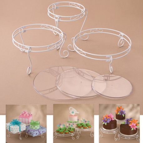 15PC CAKE DISPLAY SET