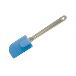 BIG SILICONE SPATULA BLUE 260 MM WITH BAND