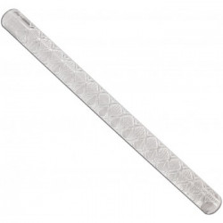 13' Impression Rolling Pin, 1' dia., Diamond Weav?Â??