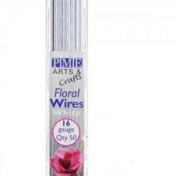 White Floral / Florist Wire - 16 Gauge