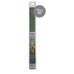 Flower Wires - Green 18 Gauge