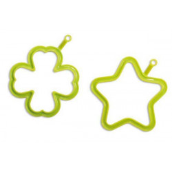 SET ACID GREEN EGG06 STAR EGG07 FOUR-LEAF 18,00?Â??