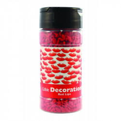 Red Lips Edible Decorations 79.3g