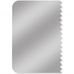 Combed Stainless Steel Side Scraper