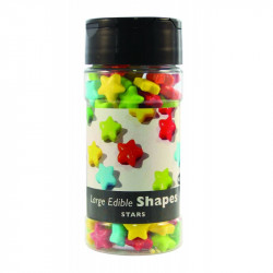 LARGE EDIBLE SHAPES - STARS