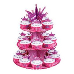 PRINCESS CUPCAKE STND KIT 49CT