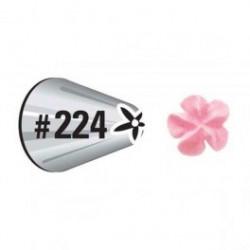 No. 224 Drop Flower Decorating Tip