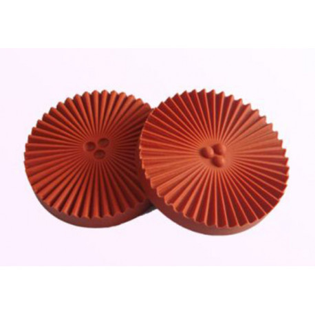 Silicone Veiner Mold, Daisy Flower, 75mm