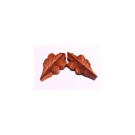 Silicone Veiner Mold, Oak Leaf, 120mm x 60mm