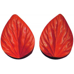 Silicone Veiner Mold, Tulip Petal, 100mm x 68mm