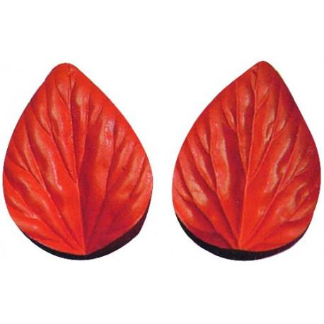 Silicone Veiner Mold, Tulip Petal, 100mm x 68mm