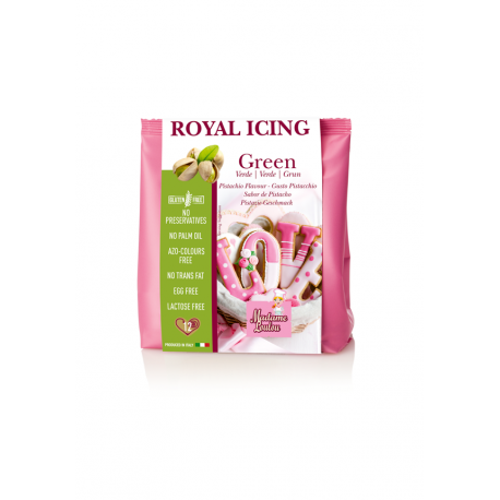 Royal Icing Green Mix 100 gr