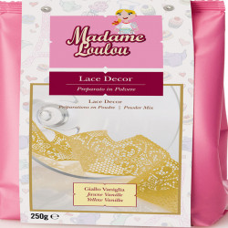 LACE DECOR VANILLA YELLOW 250GR