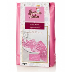 LACE DECOR STRAWBERRY PINK 250GR