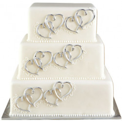 HEART CAKE DECOR