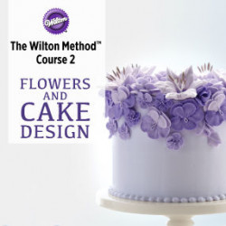 Wilton 2. - Royal icing flowers course